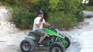 5. ATV Rock Climbing and Trail Riding - Kawasaki Mojave 250