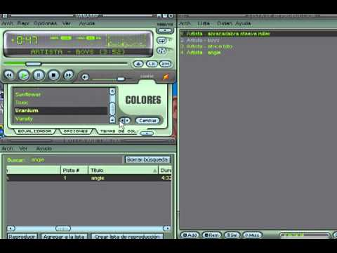 Video 2 de Winamp: Tutorial de Winamp