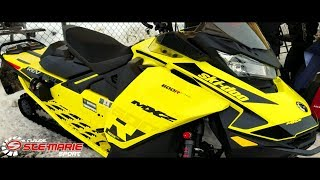 5. 2018-2019 SKI-DOO Test RIDE! 600r E-tec