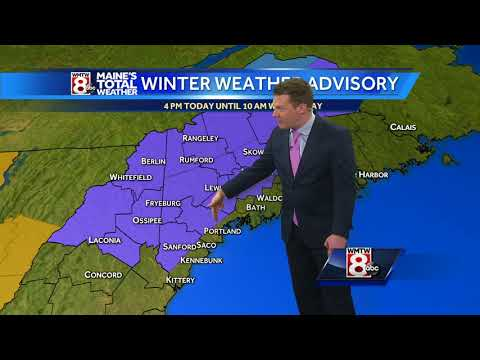 A wintry mix arrives tonight