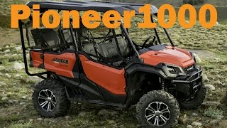 10. 2016 Honda Pioneer 1000 Test Drive from a Can Am Commander Owners Perspective