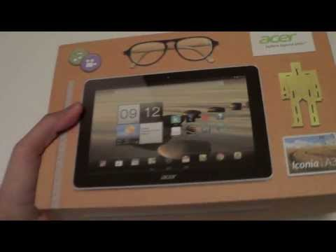 TechMaki: Unboxing Acer Iconia A3 ( Tablet 10.1 )