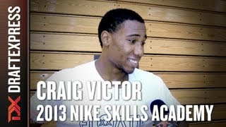 Craig Victor - 2013 Nike Skills Academy New Jersey - Interview