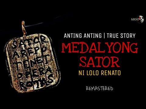 MEDALYONG SATOR NI LOLO RENATO   Anting-anting True Story