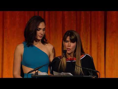 NBR Gala 2018 - Gal Gadot and Patty Jenkins (Spotlight Award)