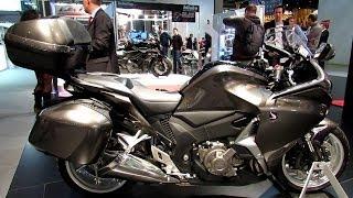 7. 2014 Honda VFR1200F Walkaround - 2013 EICMA Milan Motorcycle Exibition