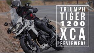 6. Triumph Tiger 1200 XCA (2018) - first impressions | BikeSocial
