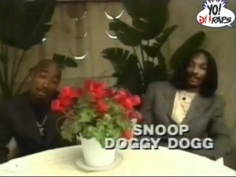 2Pac & Snoop Doggy Dogg – Interview Yo MTV Raps 1996 ( WEED SESSION )