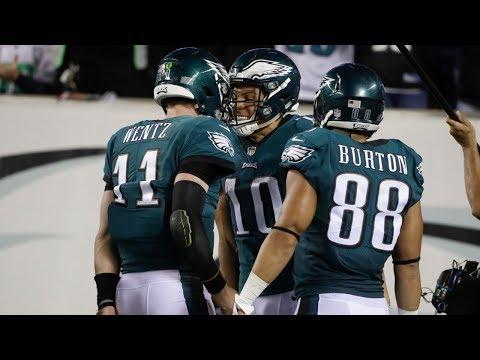 Washington Redskins vs. Philadelphia Eagles Week 7 Game Highlights | NFL (видео)