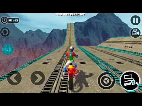 Impossible Motor Bike Tracks New Motor Bike Unlocked - Android GamePlay 2017