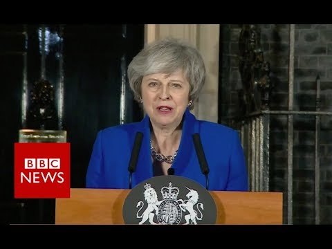 Brexit: Theresa May gives Downing Street statement - BBC News