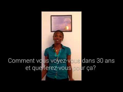 Interview de Luce-Claire NDAGANO par A. MOUPONDO (видео)