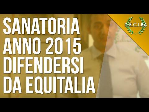 sanatoria 2015 equitalia: ecco come difendersi