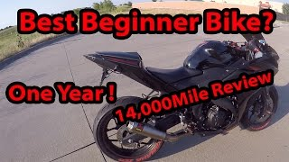 10. 2015 Yamaha R3 Review - One Year of Ownership -
