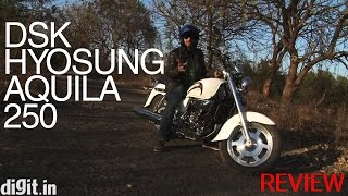 4. DSK Hyosung Aquila 250 - Hands-on bike review
