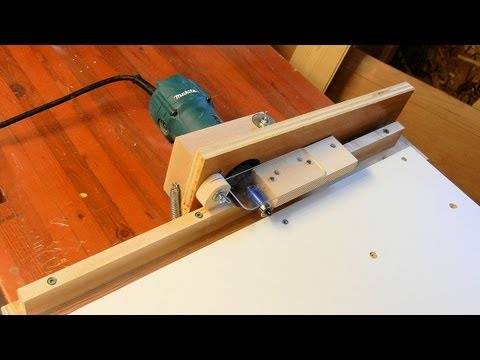Edge Banding Trimmer (видео)