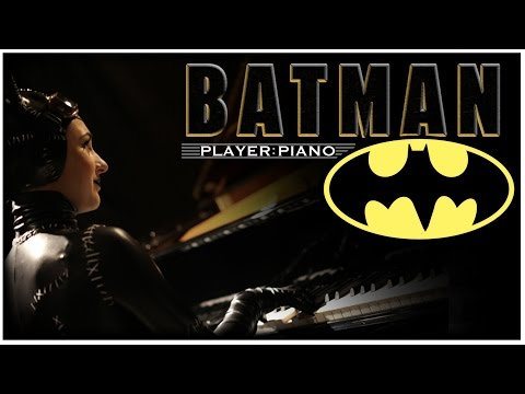 "Danny Elfman  ""Batman Theme"" Cover by Player Piano"