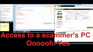 Video Accessing a scammer's PC MP3, 3GP, MP4, WEBM, AVI, FLV Juli 2018