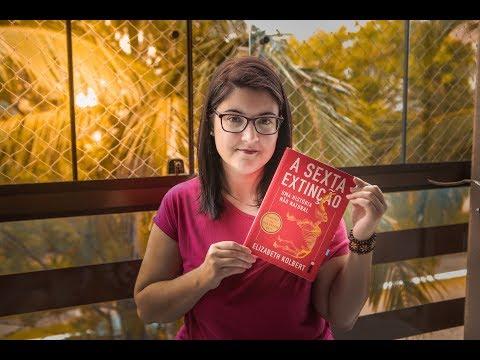 """RESENHA #1 """"A Sexta Extinção"""" - Elizabeth Kolbert"""