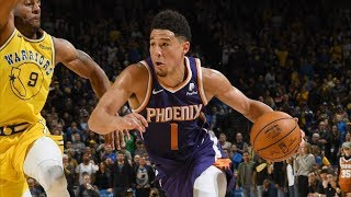 Suns Beat Warriors! Booker 17 4th QTR Points! 2018-19 NBA Season