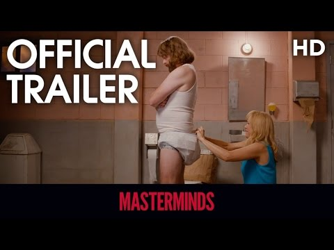 Masterminds (2016) Official Trailer 2 [HD]