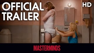 Nonton Masterminds (2016) Official Trailer 2 [HD] Film Subtitle Indonesia Streaming Movie Download