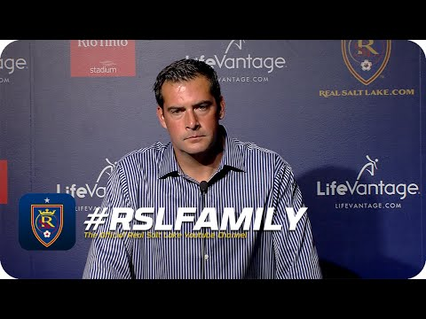 Video: Real Salt Lake vs New York Red Bulls, Postgame Press Conference with Jeff Cassar