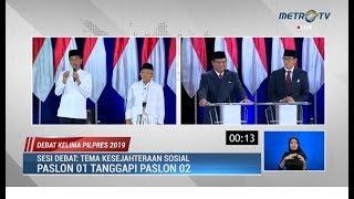 Video Debat Kelima Pilpres Part 1: Jokowi Ungkap Kerja Keras 4,5 Tahun, Prabowo Salahkan Arah Ekonomi RI MP3, 3GP, MP4, WEBM, AVI, FLV April 2019