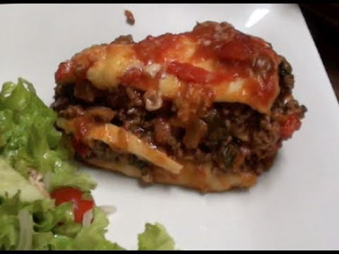 Mexican Recipe: How to Make a Spicy Beef Mexican Lasagne – Lasagna