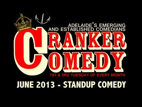 Cranker Comedy Showcase 18th June