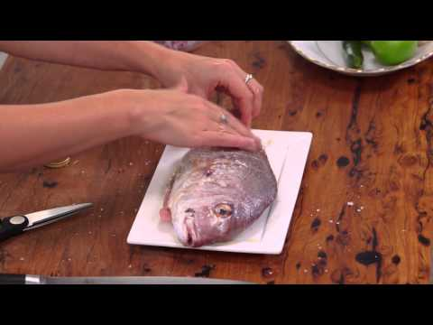 Grilled Baby Snapper With Pineapple and Cucumber Salsa | S5 E53