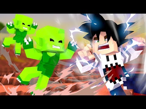 Chipart - Minecraft: LUTA CONTRA SAIBAMEN - DRAGON BLOCK SUPER 03 ‹ PORTUGAPC ›