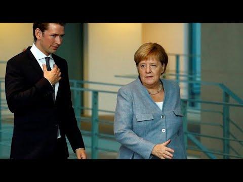 Μέρκελ-Κουρτς: Συμφωνία για το μεταναστευτικό