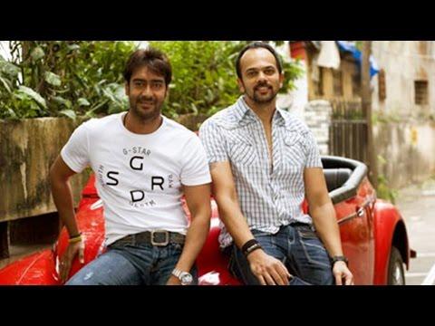 Ajay Devgan, Rohit Shetty At Worli Dahi Handi Orga