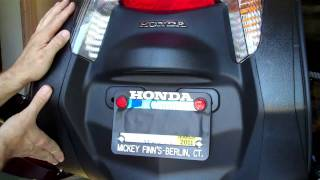 9. Honda NT700V Rear Fender Remove + Replace