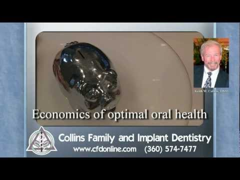 Economics of optimal oral health - by Dr. Keith Collins