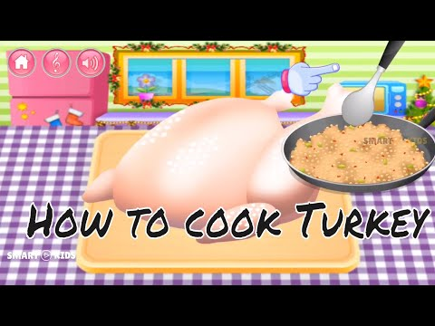 Fun Cooking Kids Games App - Best Top Cooking Games For Kids To Play - How To Cook Turkey