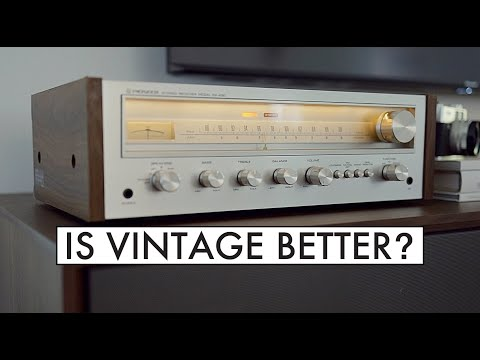 Is Vintage HiFi BETTER? - Pioneer SX-450 Stereo Receiver Review