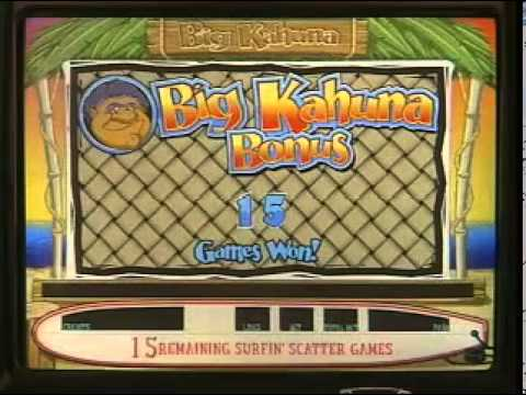 Catch A Wave Slots   Be the Big Kahuna with Catch A Wave Video Slots