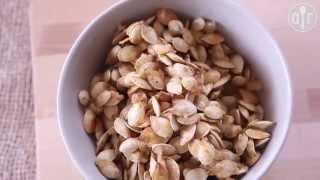 Karmelizowane pestki z dyni