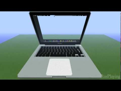 Macbook Pro RETINA in Minecraft