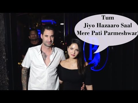 Sunny Leone Hosts Surprise Birthday Party For Husb