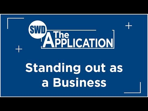 The Application: Standing out as a Business - Interview w/Alison Scott Bull (Part 5)