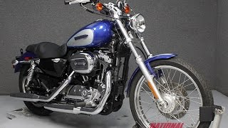 4. 2010  HARLEY DAVIDSON  XL1200C SPORTSTER 1200 CUSTOM  - National Powersports Distributors