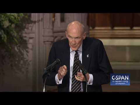 Download Former Senator Alan Simpson Tribute to President George H.W. Bush (C-SPAN) HD Mp4 3GP Video and MP3