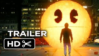 Nonton Pixels Official Trailer #1 (2015) - Adam Sandler, Peter Dinklage Movie HD Film Subtitle Indonesia Streaming Movie Download