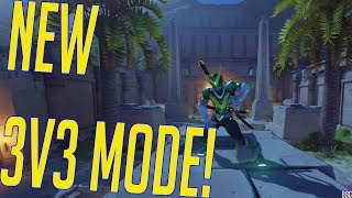 Overwatch-Anniversary Event-New 3v3 Mode?!?!(New Map Necropolis) What's up y'all!! :D How are you doing today?!?! In this video I show y'all the new game mod...