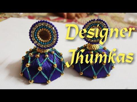 Designer jhumkas
