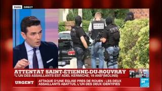 Saint-Etienne-du-Rouvray France  City pictures : Attentat Saint-Etienne-Du-Rouvray : Le parcours jihadiste de Adel Kermiche, 19 ans, pose question