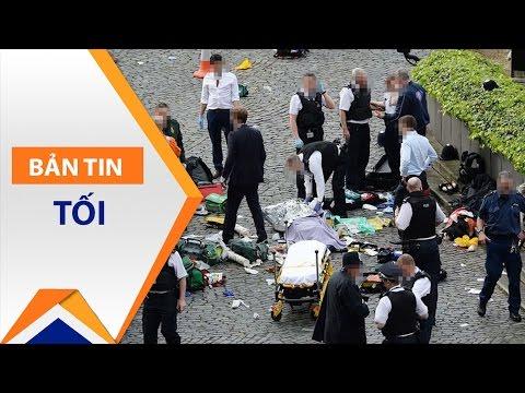 Anh: Lao xe, tấn công khủng bố bằng dao | VTC - Thời lượng: 11 phút.